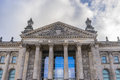 Reichstag building detail Royalty Free Stock Photo