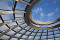 Reichstag Dome in Berlin Royalty Free Stock Photo