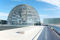 Reichstag Dome, Berlin modern achitecture Royalty Free Stock Images
