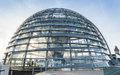 Reichstag glass dome german bundestag architecture photograph of s the current is a constructed on top of the rebuilt Royalty Free Stock Photography