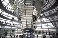 Reichstag - parliament building, inside the glass dome. Berlin Stock Photos