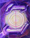Reiki Healing Hands Royalty Free Stock Photos