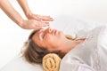 Reiki healing Royalty Free Stock Photo