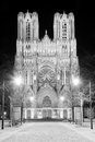 Reims Cathedral Stock Photography