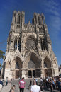 Reims Notre Dame Cathedral Royalty Free Stock Photo