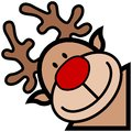Reindeer cartoon Royalty Free Stock Image