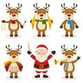 Reindeer Christmas Orchestra Set