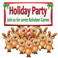 Reindeer Games Royalty Free Stock Photography