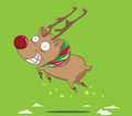Reindeer holidays christmas create cartoon Stock Photos