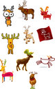 Reindeer Illustration Stock Photos
