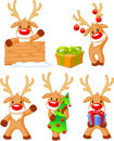 Reindeer Rudolph Royalty Free Stock Photos
