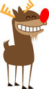 Reindeer stylized illustration of a Stock Images