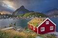 Reine, Norway. Royalty Free Stock Photo