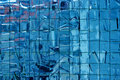 Reinforced mosaic glass Royalty Free Stock Photo