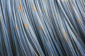 Reinforcing steel bar Royalty Free Stock Photos