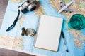 Reis, reisvakantie, de hulpmiddelen van het toerismemodel
