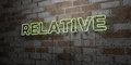 RELATIVE - Glowing Neon Sign O...