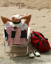 Relax on the beach - Spain Royalty Free Stock Image