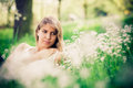 Relax in grass Royalty Free Stock Photo