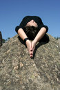 Relax, meditation or faith Royalty Free Stock Photo