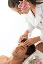 Cabeza masaje