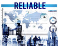 Reliable Integrity Respectable Trustworthy Trust Concept Royalty Free Stock Photo
