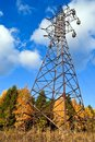 Reliance power line. Royalty Free Stock Image
