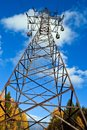 Reliance power line. Stock Image