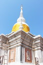 Relics nadoon covered with yellow cloth Royalty Free Stock Image