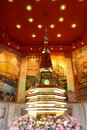 Relics of udon thani this located in wat phothisomphon this is the inside the cover pagoda again thailand Stock Images