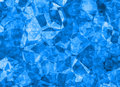 Relief blue crystal backgrounds texture Royalty Free Stock Photo