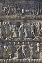 Relief detail from Galerius arch at Thessaloniki, Royalty Free Stock Photography