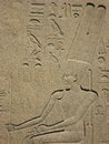 Relief at the Egyptian Museum in Cairo Royalty Free Stock Photo