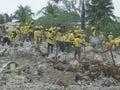 Relief to haiti Royalty Free Stock Photo