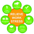 Relieve work stress Stock Photos