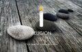 Religion Faith Believe God Hope Spirituality Pray Concept Royalty Free Stock Photo