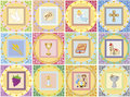 Religion icons illustration of isolated Royalty Free Stock Images