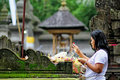 Religion worship place hindu bali temple Stock Photos