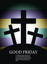 Religious background for good friday. Royalty Free Stock Photography