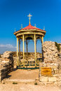 Religious building in khersones crimea ukraine Royalty Free Stock Images