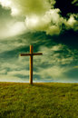 Religious cross Stock Photography