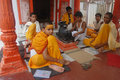 Religious Education in India Royalty Free Stock Photography