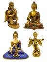Religious figurines Stock Photos