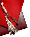 Religious graduation Royalty Free Stock Photo