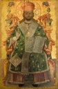 Religious Icon - Monastery of St Barnabas Royalty Free Stock Photos