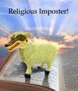 Religious imposter Royalty Free Stock Photo
