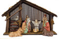 Religious nativity scene Stock Photo
