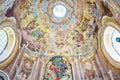 Religious painting, interior of calvary, Banska Stiavnica, Slova