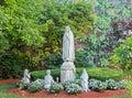 Religious Praying Statue Royalty Free Stock Photo