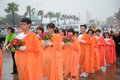 Religious procession Stock Photography